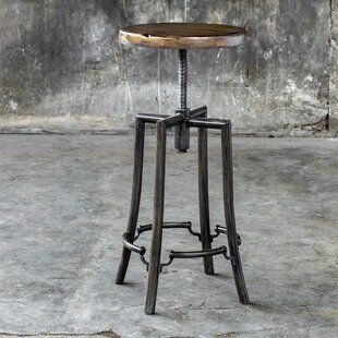 Oscar Adjustable Height Swivel Bar Stool