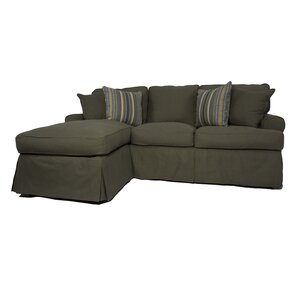 Coral Gables Reversible Sleeper Sectional by Beachcrest Home