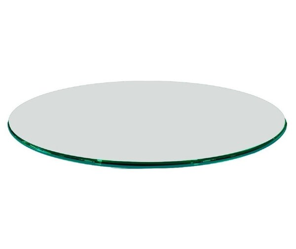 Fab Glass And Mirror Round Tempered Glass Table Top U0026 Reviews | Wayfair