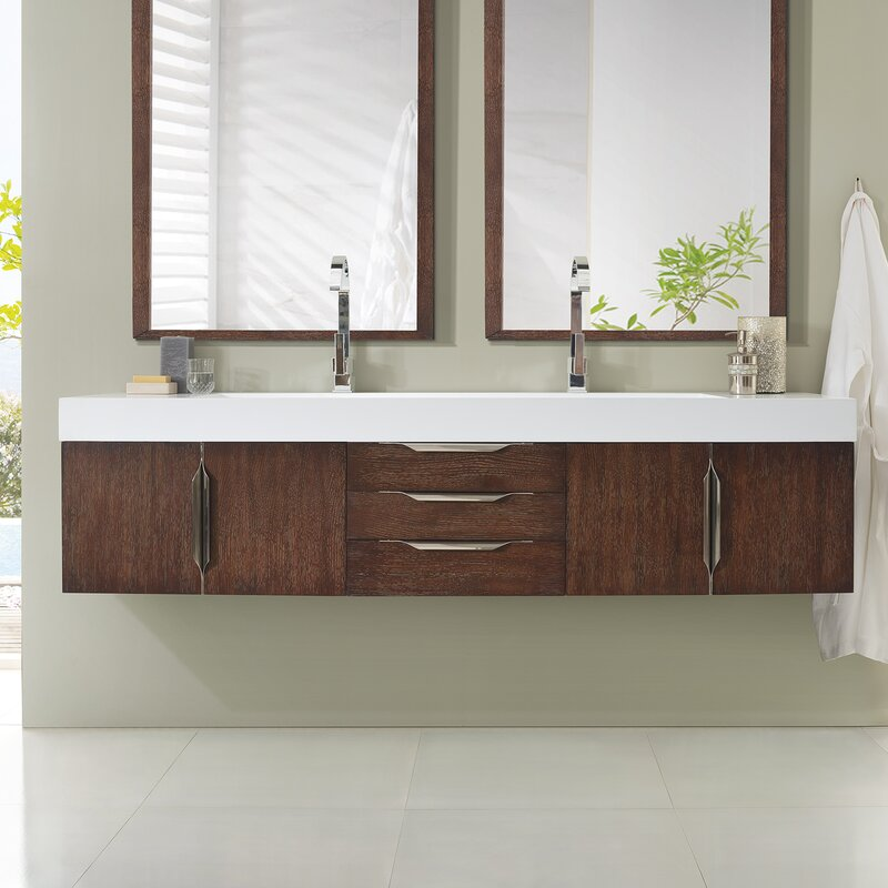 bathroom vanity set. Hukill 72  Double Bathroom Vanity Set Reviews AllModern