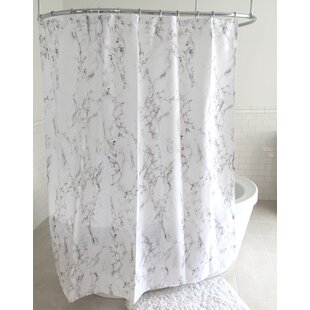 Grey Silver Shower Curtains You Ll Love Wayfair Ca
