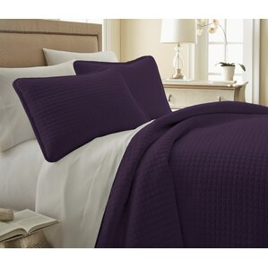 purple bedroom sets. Savin Quilt Set Modern Purple Bedding Sets  AllModern