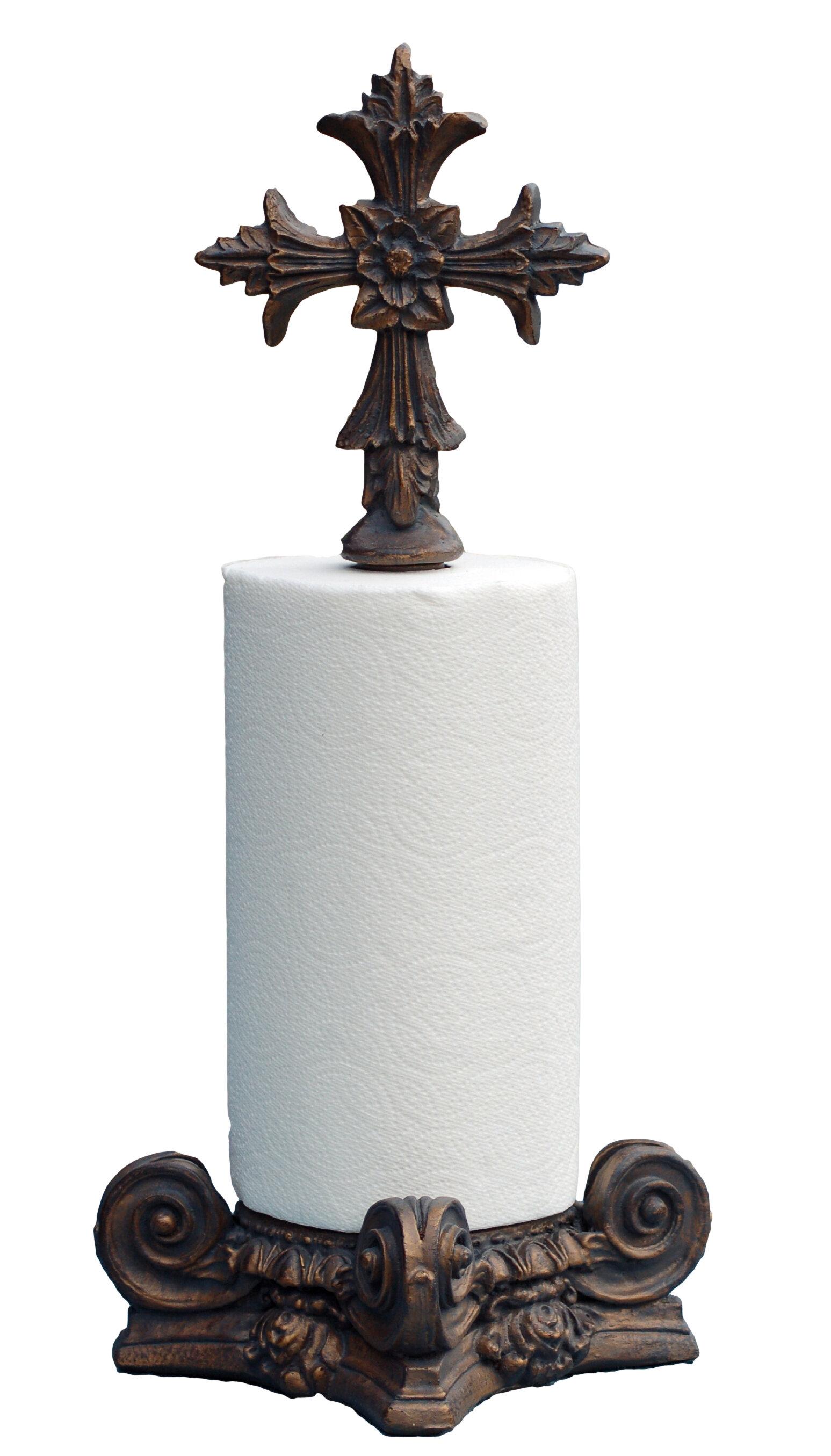 Hickory Manor House Fleur De Lis Top Paper Towel Holder Reviews