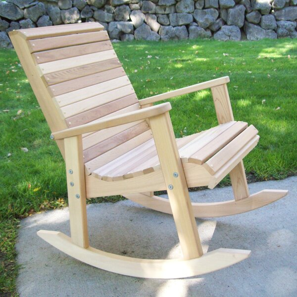 Woodcountry T Amp L Rocking Chair Wayfair