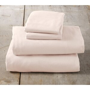 Peter Super Soft Solid Flannel Sheet Set