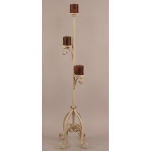 Rustic Living Iron Candlestick