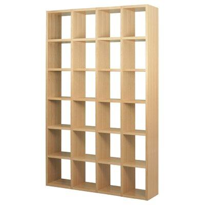 Brayden Studio Ottley Composition Cube Unit Bookcase Finish: Wild Oak
