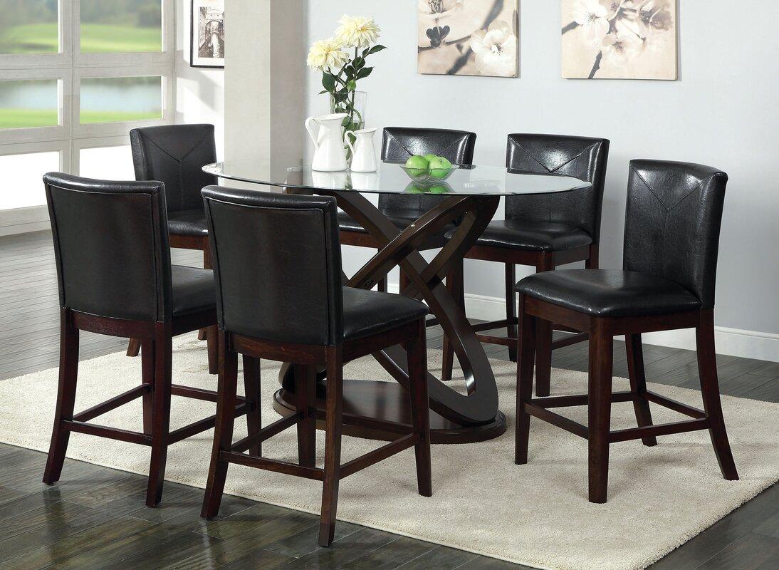 Hokku Designs Ollivander Counter Height Dining Table Wayfair