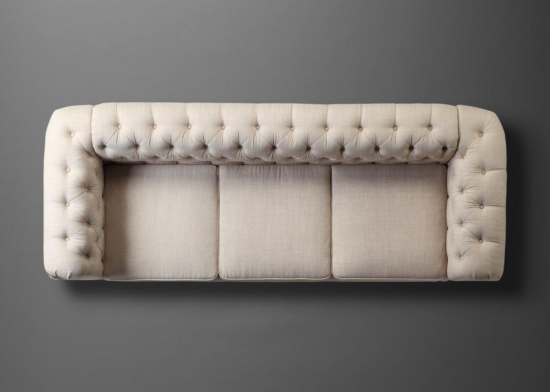 Mulhouse Furniture Garcia Chesterfield Sofa Amp Reviews