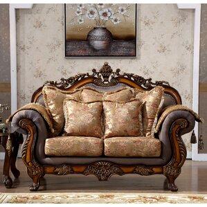 Larina Upholstered Loveseat by Astoria Grand