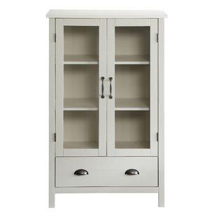 2 Door Accent Cabinet  sc 1 st  Wayfair & Tall Glass Door Cabinet | Wayfair