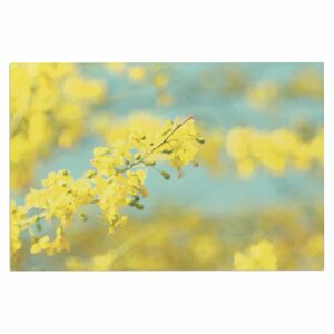 'Yellow Blooms 2' Doormat