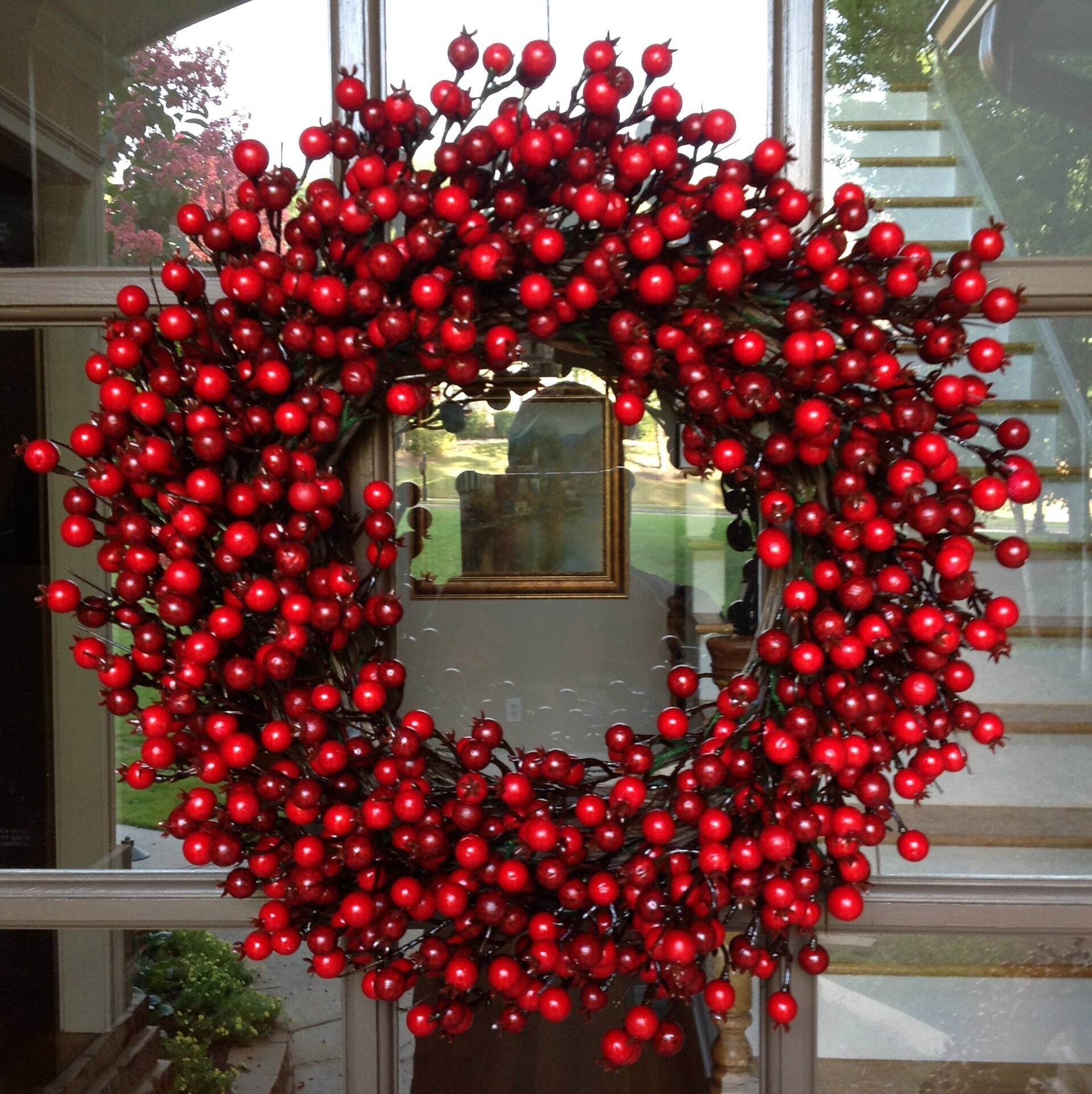 Red Berry Christmas Wreath | Wayfair