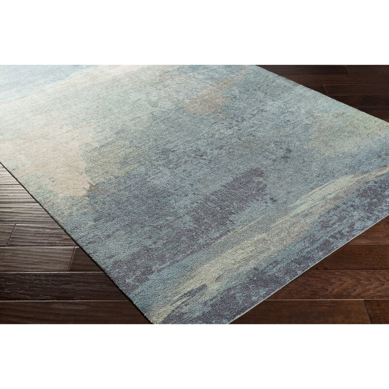 Greenlee Blue Gray Area Rug Reviews Joss Main