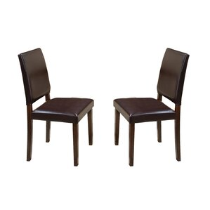 Lofts Upholstered Parsons Side Chair (Set..