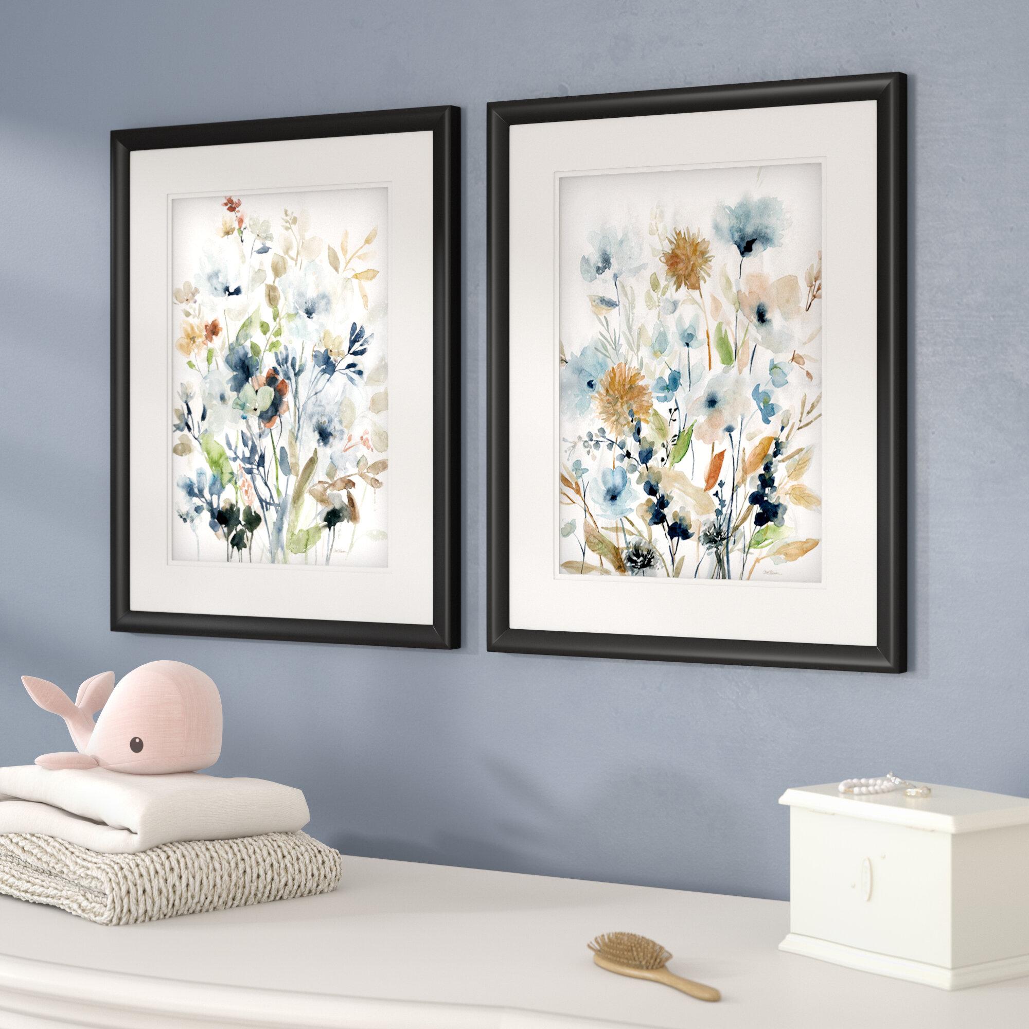 Holland Spring Mix\' 2 Piece Framed Acrylic Painting Print Set ...