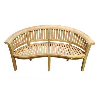 Teak Wood Shower Bench | Wayfair