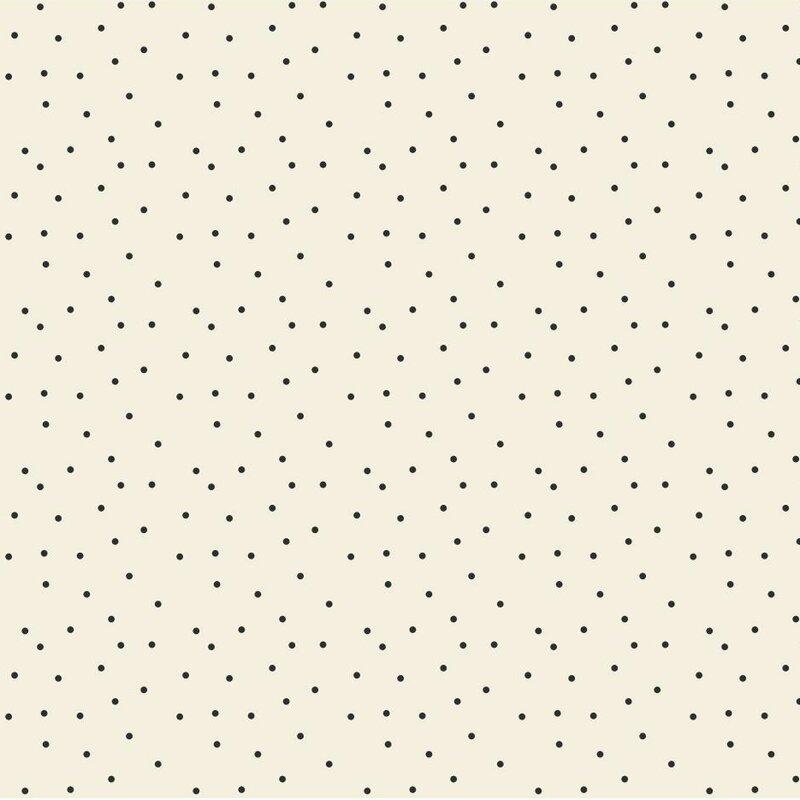 Black And White 33 X 20 5 Polka Dot Wallpaper