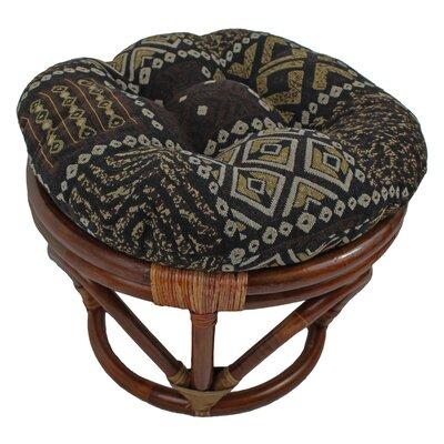 blazing needles papasan ottoman cushion wayfair