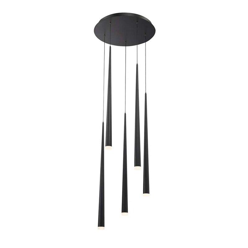 Modern Forms Cascade 5-Light LED Crystal Chandelier