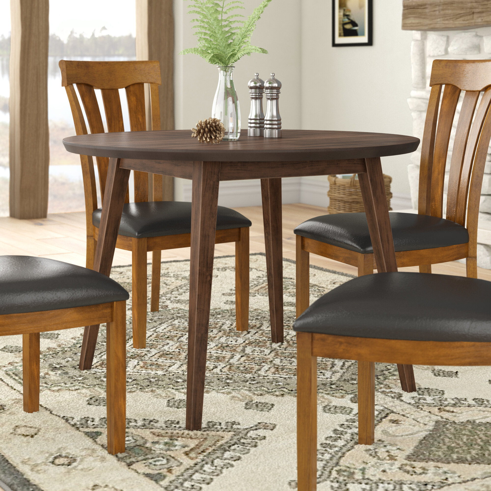 Superieur Keown Solid Wood Dining Table