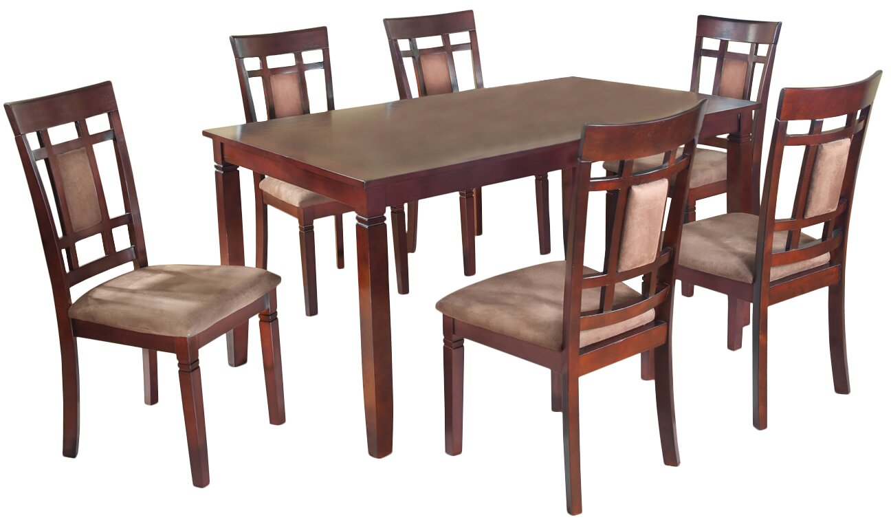 patrick 7 piece dining set
