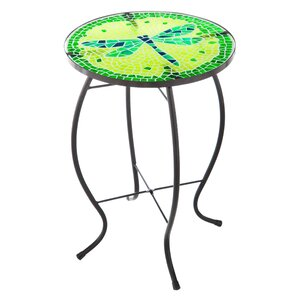Dragonfly End Table by Evergreen Flag & Garden
