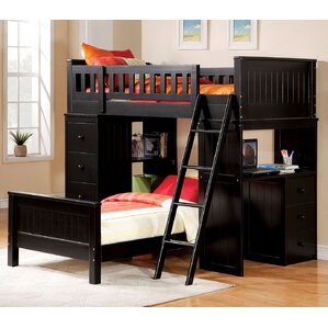 Bunk Beds Loft Beds with Desks Wayfair