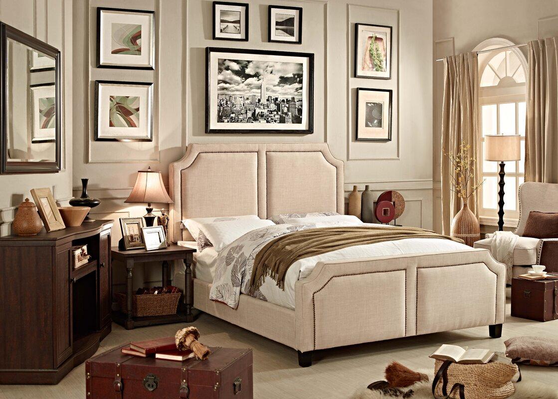 Sanibel Queen Upholstered Panel Bed