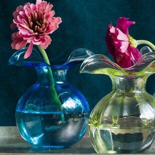 b0969c19512 Hibiscus Glass Table Vase