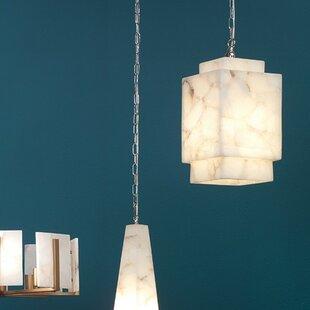 Saguache Cube 1-Light Square/Rectangle Pendant & Cube Pendant Light | Wayfair