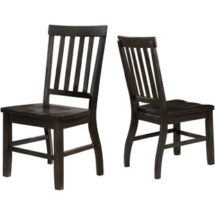 Alcorn Solid Wood Dining Chair (Set of 2)