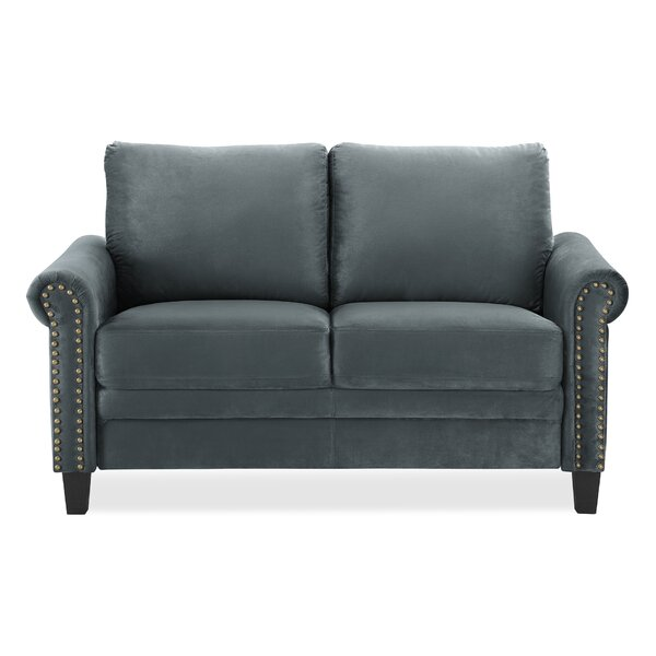 Charlton Home Chisolm Loveseat & Reviews