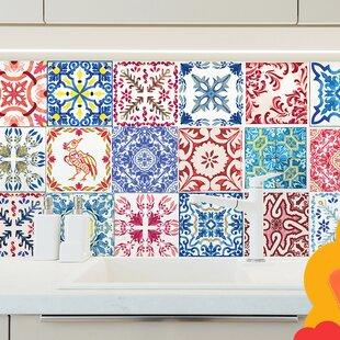 Moroccan 15cm X Pvc L Stick Mosaic Tile Set Of 48