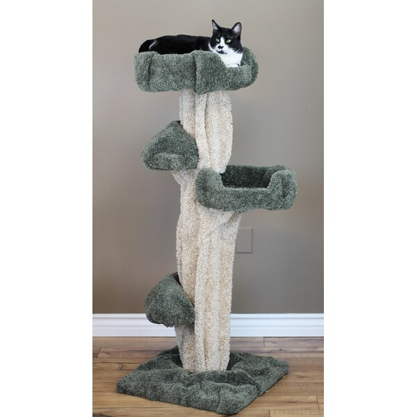 New Cat Condos 51 Quot Premier Cat Tree Amp Reviews Wayfair