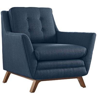 George Oliver Binder Armchair Upholstery: Azure