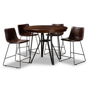 Albritton 5 Piece Pub Table Set