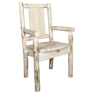 Debbi Solid Wood Dining Arm Chair