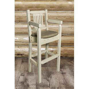 Abella 30 Solid Wood Bar Stool