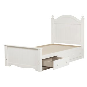 Savannah Twin Panel Bed with Storage by South Shore