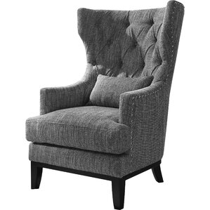 Darby Home Co Val Wingback Chair
