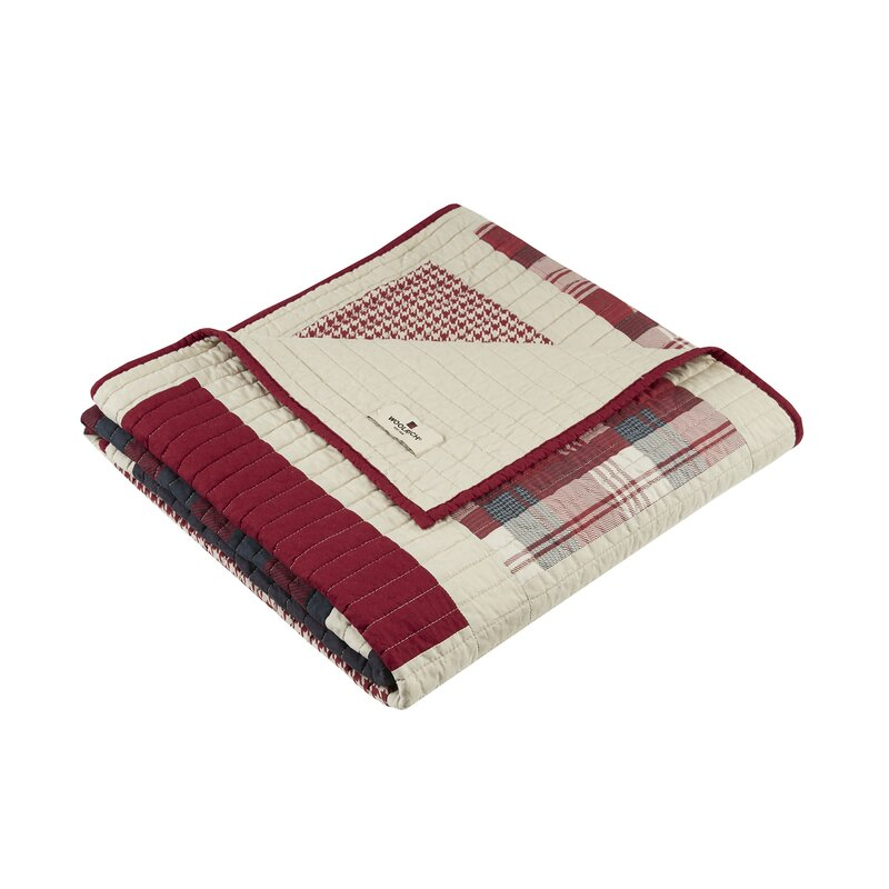 Woolrich Huntington Quilted Cotton Throw & Reviews | Wayfair : woolrich quilted blanket - Adamdwight.com