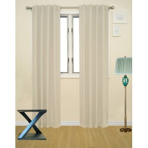 Inch Rod Pocket Curtains Wayfair - Curtains for 3 windows in a row
