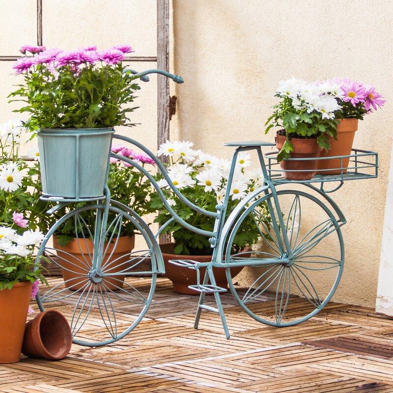 Evergreen Enterprises Inc Metal Bicycle Planter Amp Reviews