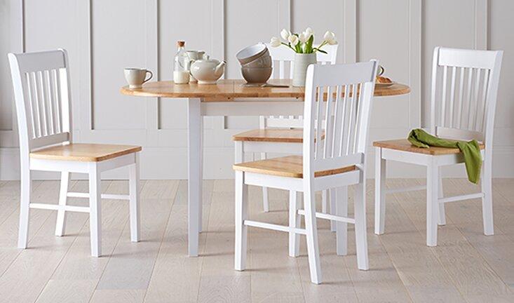 Essgruppe Givry Mit Ausziehbarem Tisch Und 4 Stühlen