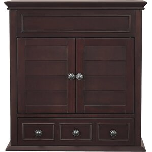 Martel Lane 1 Drawer Wall Accent Cabinet