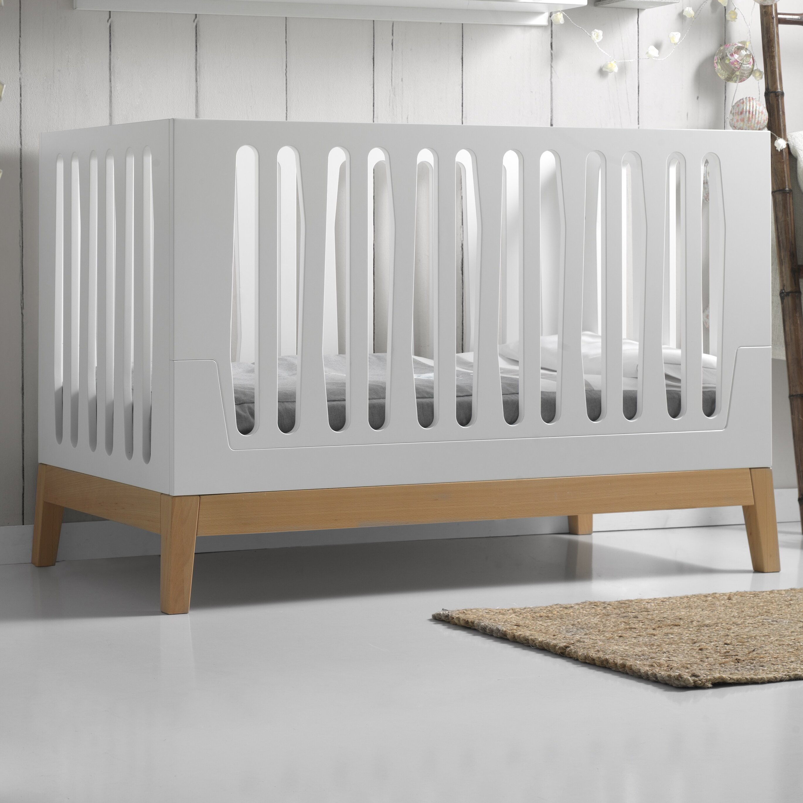 white clearview crib collections select detail toddler next infant cribs through gen serenity fixedside side see factory compact fixed