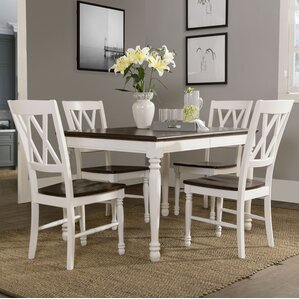 Kivalina 5 Piece Dining Set by Beachcrest Home