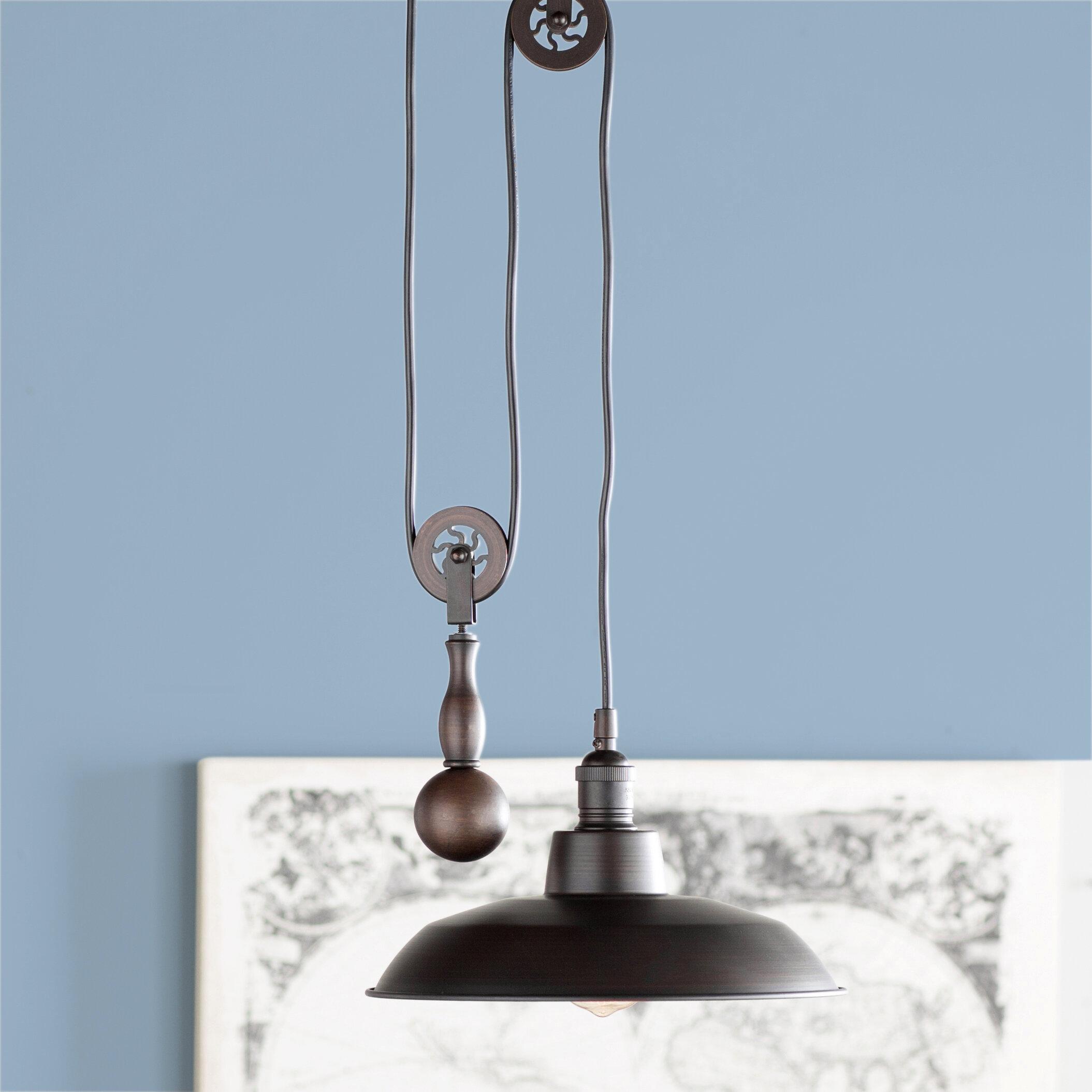 Trent Austin Design Ariel 1-Light Dome Pendant & Reviews   Wayfair
