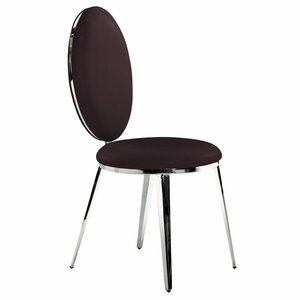 Belina Genuine Leather Upholstered Dining Chair (Set of 2)